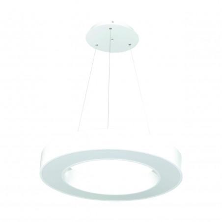Paviršinis / Pakabinamas ant trosų žiedo formos LED šviestuvas 48W Baltas  - 1