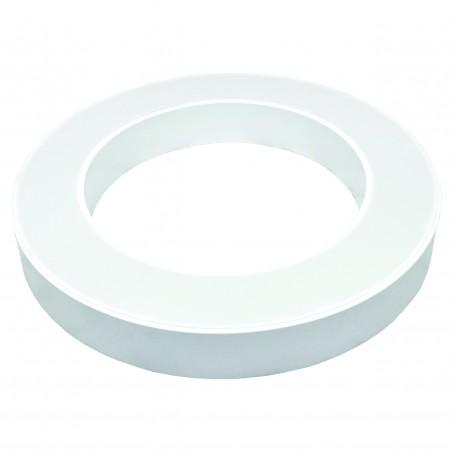 Paviršinis / Pakabinamas ant trosų žiedo formos LED šviestuvas 48W Baltas