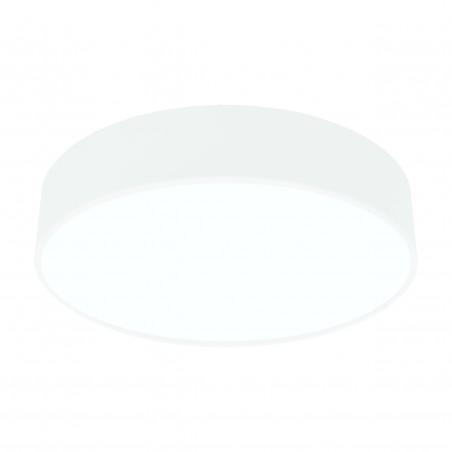 Paviršinis / pakabinamas ant trosų apvalus LED šviestuvas 60W Baltas  - 1
