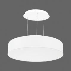 Paviršinis / pakabinamas ant trosų apvalus LED šviestuvas 60W Baltas