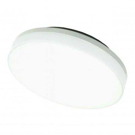 Lubinis, sieninis LED šviestuvas su judesio jutikliu SENS 15W Baltas  - 1