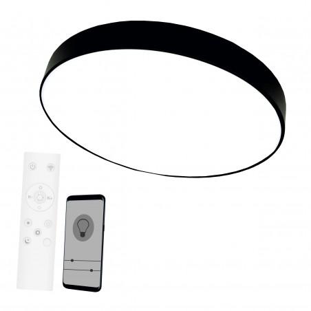 Lubinis / Sieninis LED šviestuvas 96W, su 2.4Gz belaidžiu šviesos ryškumo ir šviesos spektro reguliavimu