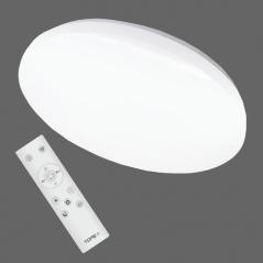 Lubinis / Sieninis 72W LED šviestuvas su belaidžiu šviesos ryškumo, šviesos spektro, RGB reguliavimu