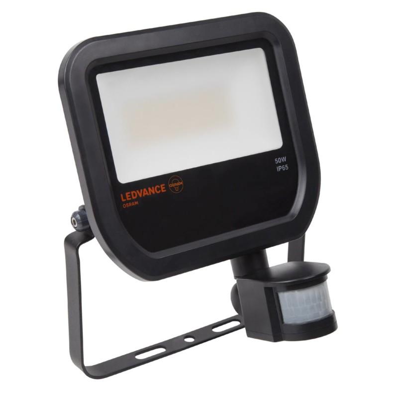 LED Prožektorius su judesio davikliu LEDVANCE 50W, 3000K, 4000K, IP65  - 1