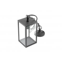 Lubinis pakabinamas šviestuvas VENTANA-H, 1xE27  - 1