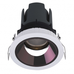 Įmontuojamas reguliuojamas LED šviestuvas LUCENT R1300 10W, 3000K, 40°  - 1