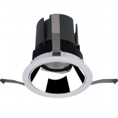 Įmontuojamas reguliuojamas LED šviestuvas LUCENT R1343 8W, 3000K, 30°  - 1