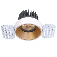 Užglaistomas LED šviestuvas TIFFANY R1355 10W, 3000K, 36°  - 1