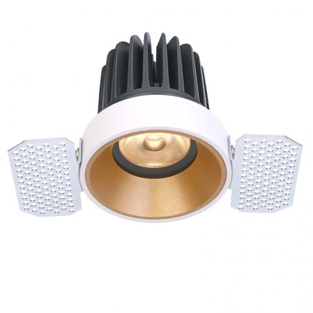 Užglaistomas LED šviestuvas TIFFANY R1356 15W, 3000K, 36°  - 1