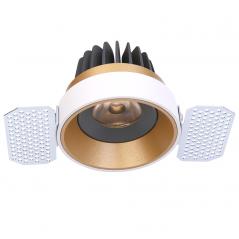 Užglaistomas reguliuojamas LED šviestuvas TIFFANY R1359 10W, 3000K, 36°  - 2