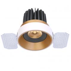 Užglaistomas reguliuojamas LED šviestuvas TIFFANY R1360 15W, 3000K, 36°