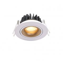 Įmontuojamas reguliuojamas LED šviestuvas GABRIEL R1364 6W, 3000K, 36°  - 1