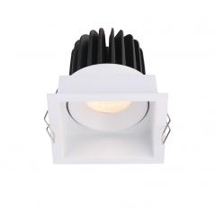 Įmontuojamas reguliuojamas LED šviestuvas ANGELO R1237, 15W, 3000K, 60°  - 1