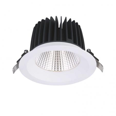 Įmontuojamas LED šviestuvas NOBLE R1132, 25W/33W, 3000K, 38°, IP44  - 1