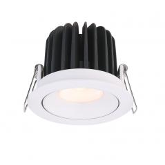 Įmontuojamas reguliuojamas LED šviestuvas NOBLE R1232, 15W, 3000K, 4000K, 60°  - 1