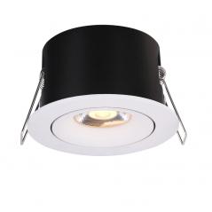 Įmontuojamas reguliuojamas LED šviestuvas LILITH R1318, 7W, 3000K, 50°  - 1