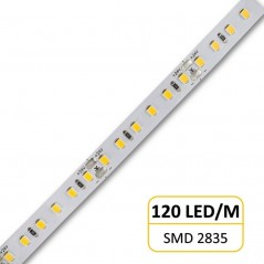 20W LED juosta neutrali balta 24V 120 LED/M 2400lm/M  - 1