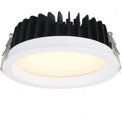 Įleidžiamas LED šviestuvas VIGOROUS R3006 20W/25W, 3000K, IP44  - 1