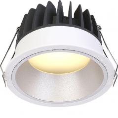 Įleidžiamas LED šviestuvas VIGOROUS R3027 10W, 3000K, IP44  - 1