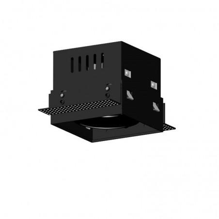 Užglaistomas reguliuojamas LED šviestuvas GLOBAL R1054 10W, 60°, 3000K  - 1