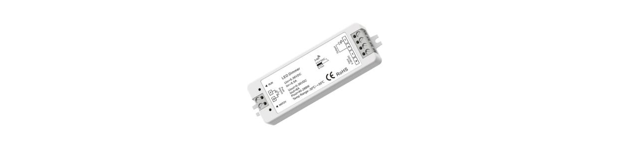 LED juostų valdymo sistema
